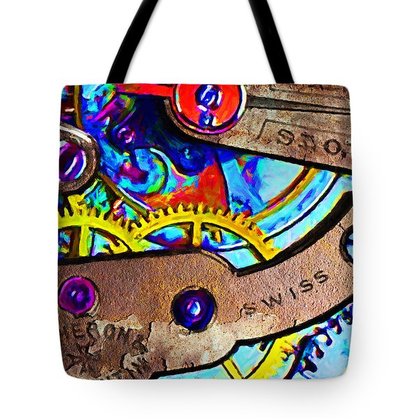 Time Waits For Nobody 20130605 Tote Bag by Wingsdomain Art and Photography