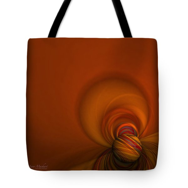 Time Warp Tote Bag by Mary Machare