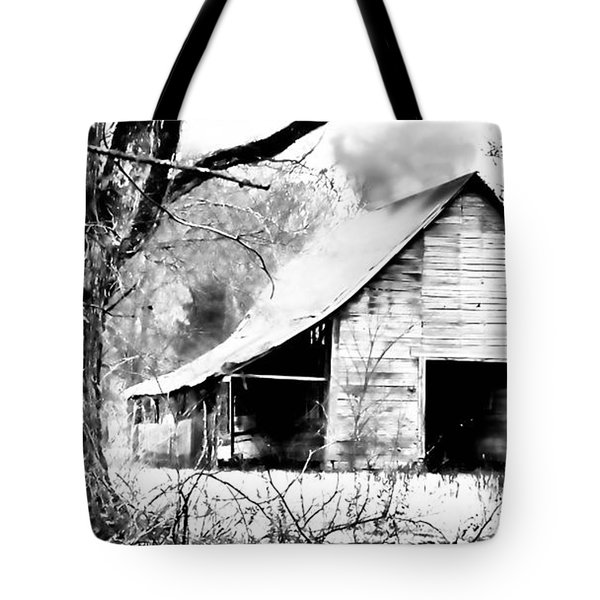Timeless In Black And White Tote Bag by Betty LaRue