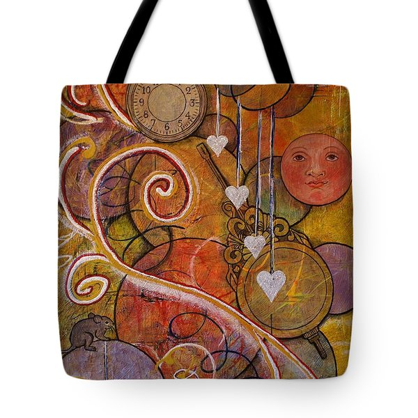 Timeless Love Tote Bag by Jane Chesnut