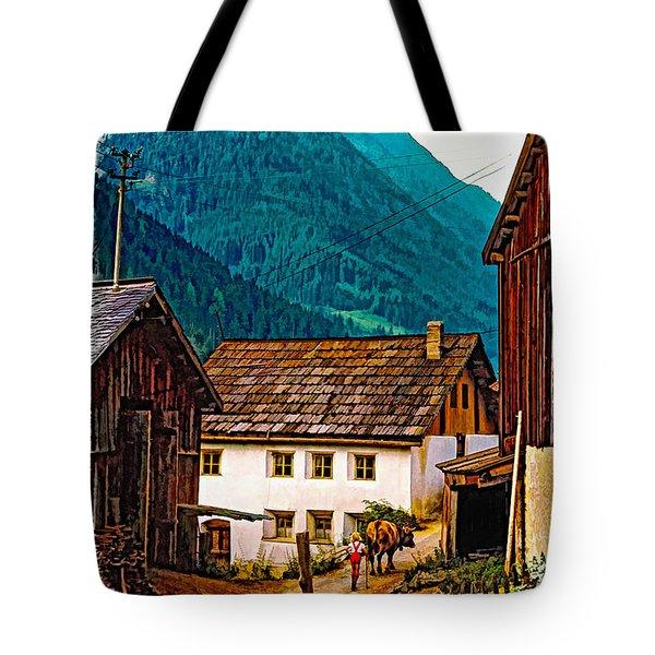 Timeless Vignette Version Tote Bag by Steve Harrington