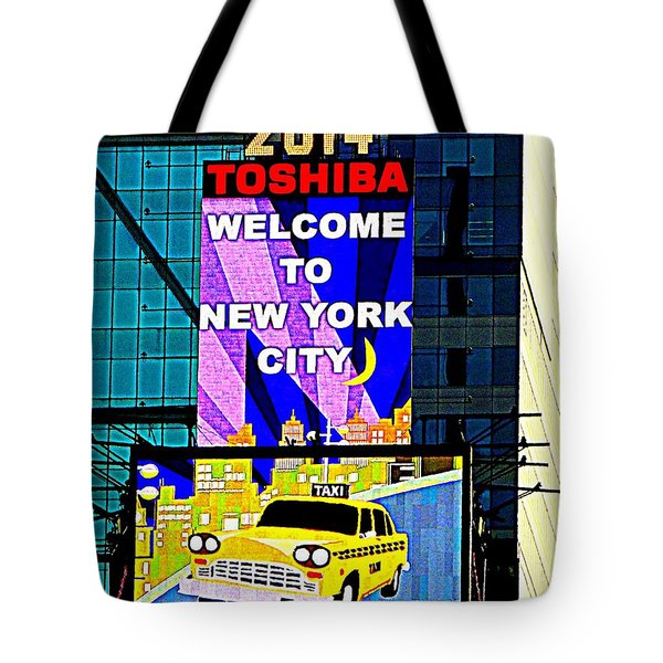 Times Square New Years Eve Ball Tote Bag by Ed Weidman