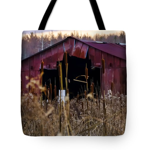 Tin Roof Rusted Tote Bag by Bill Cannon