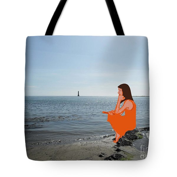 TIN WHISTLE 3 Tote Bag by Patrick J Murphy