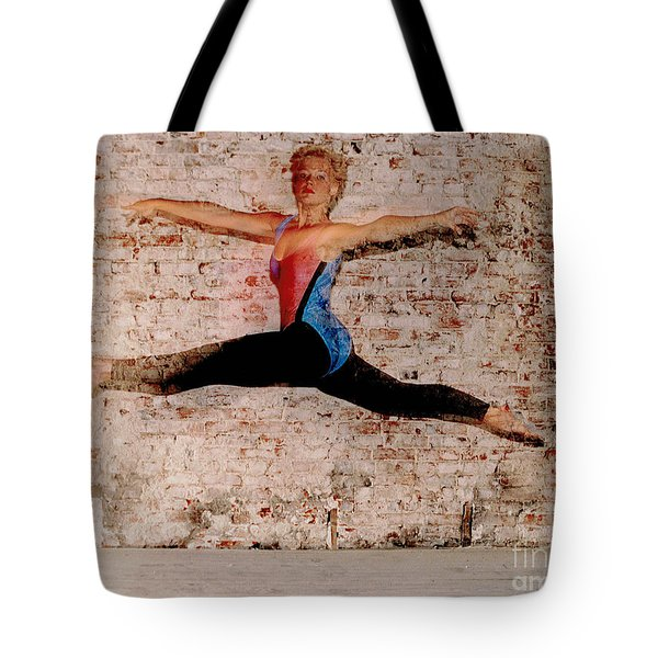 Tina Ballet Jump Tote Bag by Gary Gingrich Galleries