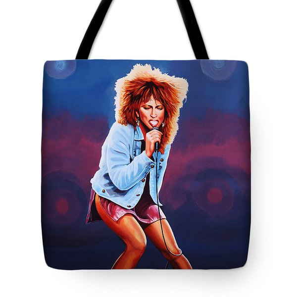 Tina Turner Tote Bag by Paul Meijering
