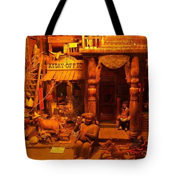 Tinkertown Tote Bag by Jeff Swan