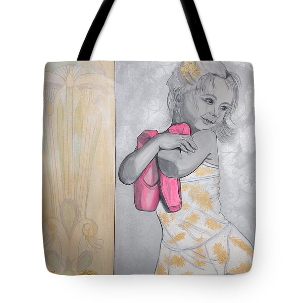 Tiny Dancer Tote Bag by Darlene Graeser