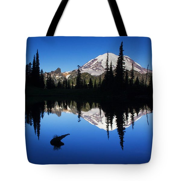 Tipsoo Sunrise Tote Bag by Mark Kiver