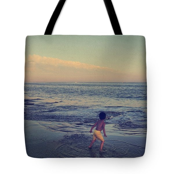 To Be Young Tote Bag by Laurie Search