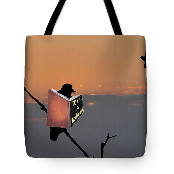 To Kill A Mockingbird Tote Bag by Bill Cannon
