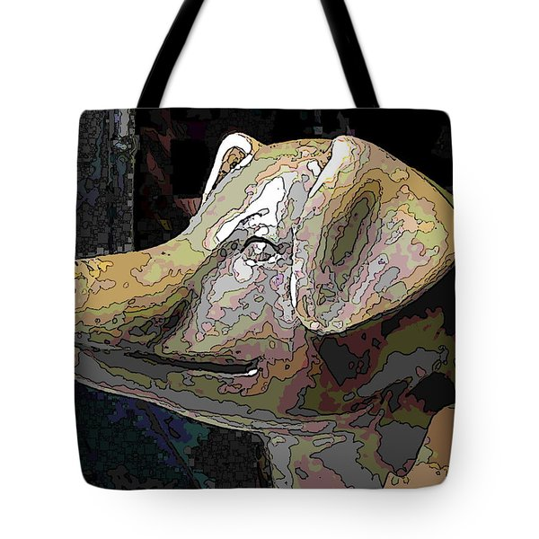 To Market We Go Tote Bag by Tim Allen