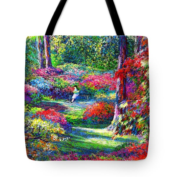 To Read and Dream Tote Bag by Jane Small