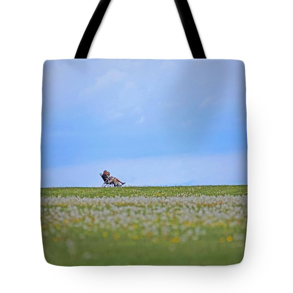 To Relax Tote Bag by Karol Livote