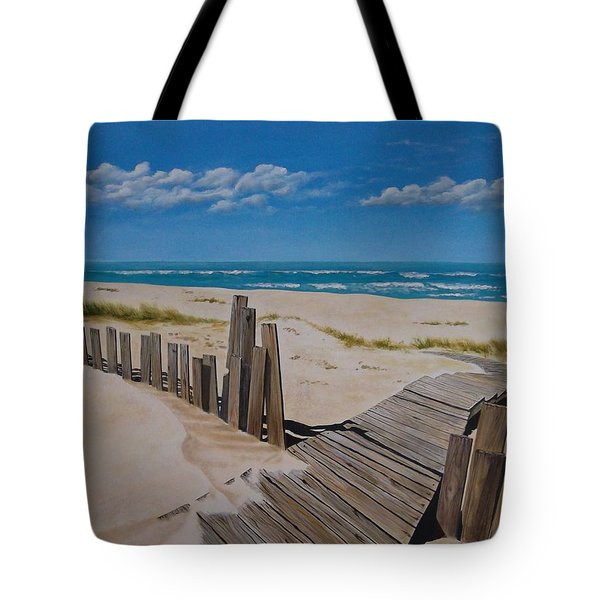 To The Beach Tote Bag by Paul Bennett