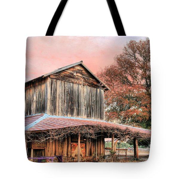 Tobacco Road Tote Bag by JC Findley