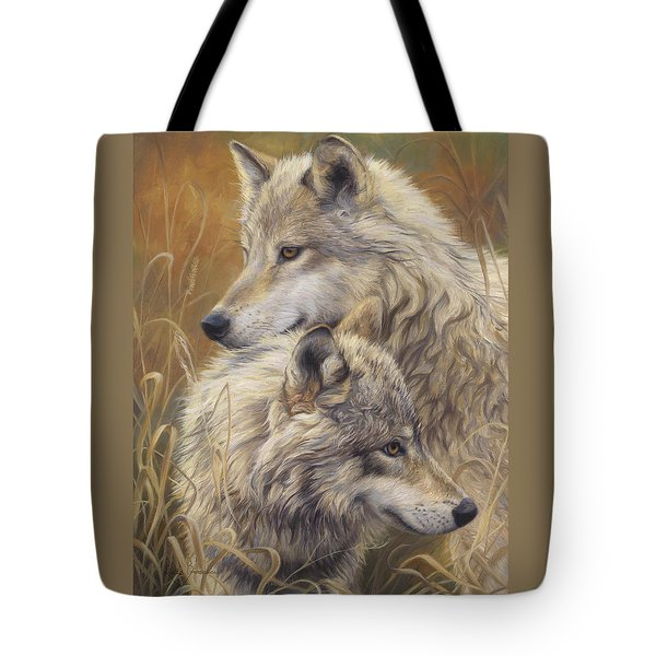 Together Tote Bag by Lucie Bilodeau