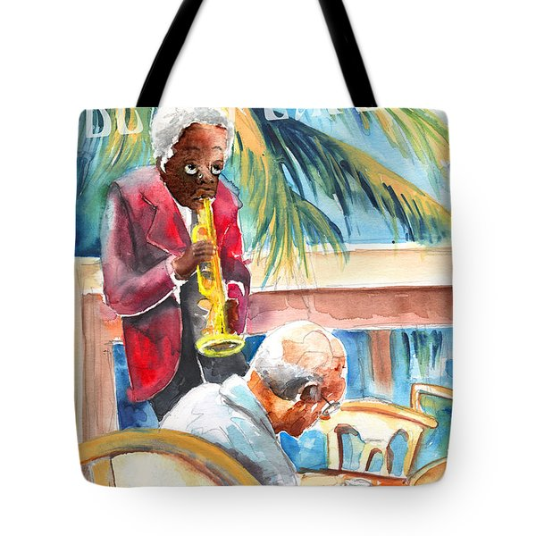 Together Old In Prague Tote Bag by Miki De Goodaboom