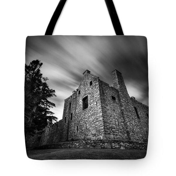 Tolquhon Castle Tote Bag by Dave Bowman