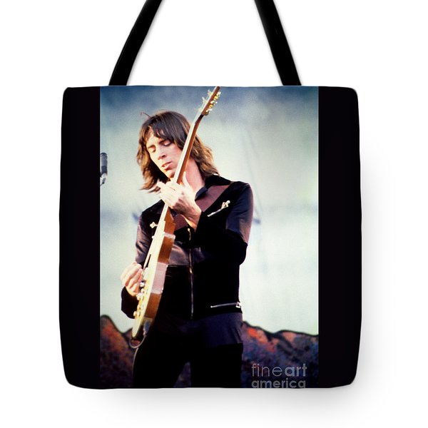 Tom Scholz of Boston-Day on the Green 1 in Oakland Ca 5-6-79 1st Release Tote Bag by Daniel Larsen