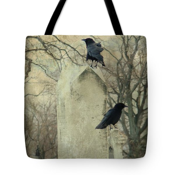 Tombstone Hoppers Tote Bag by Gothicolors Donna Snyder
