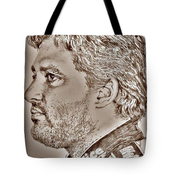 Tony Stewart In 2011 Tote Bag by J McCombie