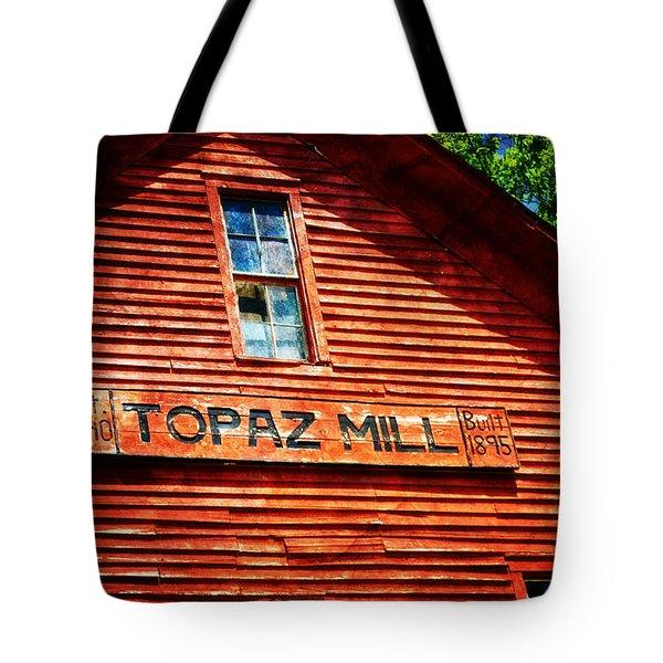 Topaz Tote Bag by Marty Koch