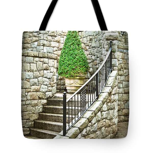 Topiary plant Tote Bag by Tom Gowanlock