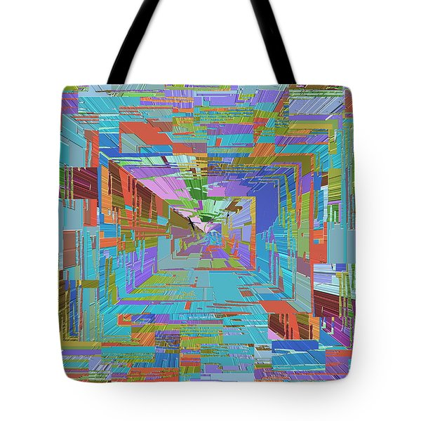 Topographic Albatross Tote Bag by Tim Allen