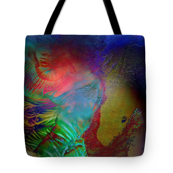 Topology Of Decalcomania Tote Bag by Otto Rapp