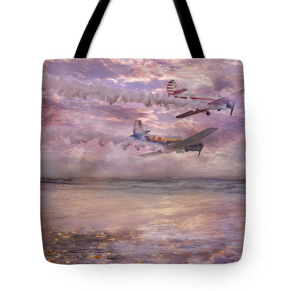 Topsail Flyers Tote Bag by Betsy A  Cutler