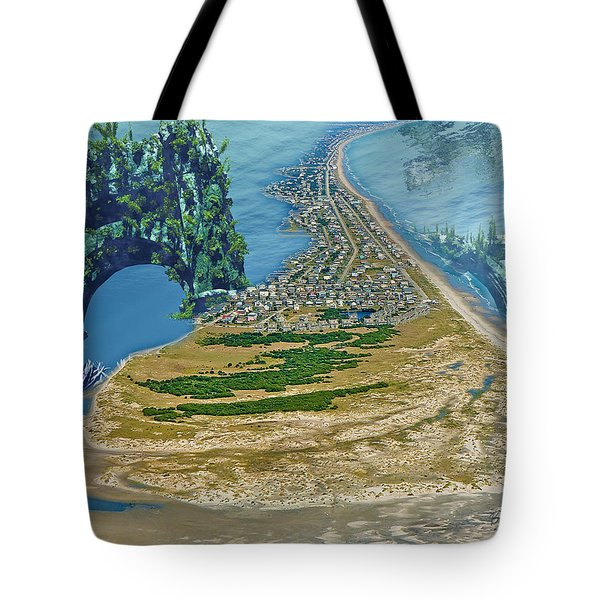 Topsail Island Betsy Cutler Tote Bag by Betsy C  Knapp