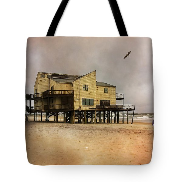 Topsail's Past II Tote Bag by Betsy C  Knapp