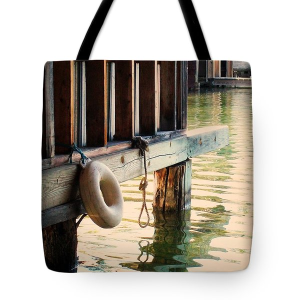 Torch River Bayou Tote Bag by Michelle Calkins