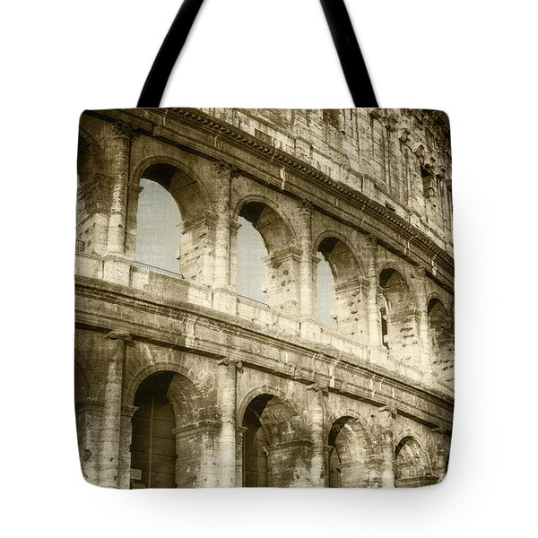 Torn From The Pages Tote Bag by Joan Carroll