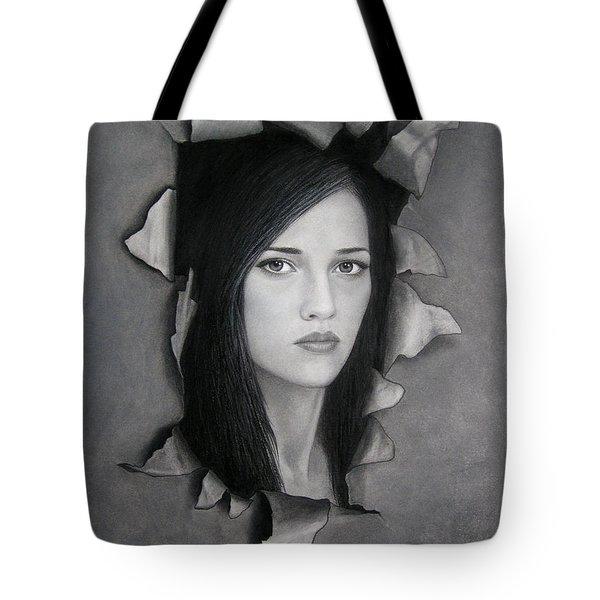 Torn Tote Bag by Lynet McDonald