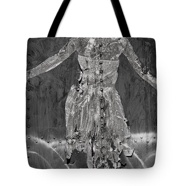 Torn Poster No. 1 Tote Bag by David Gordon