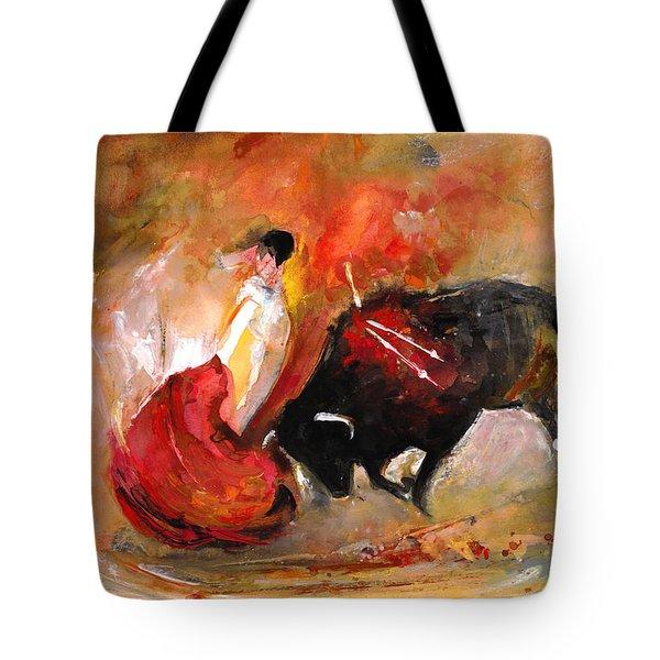 Toro 777 Tote Bag by Miki De Goodaboom