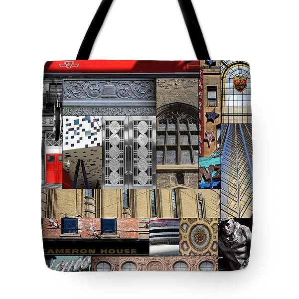 Toronto Textures 1 Tote Bag by Andrew Fare