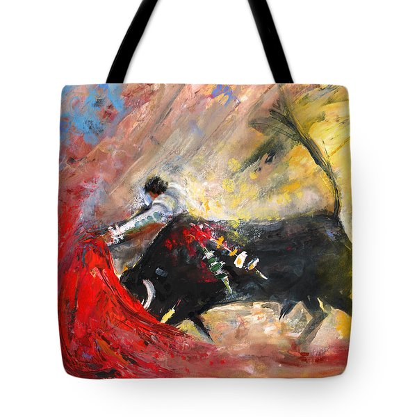 Toroscape 46 Tote Bag by Miki De Goodaboom