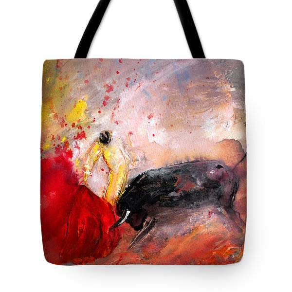 Toroscape 48 Tote Bag by Miki De Goodaboom