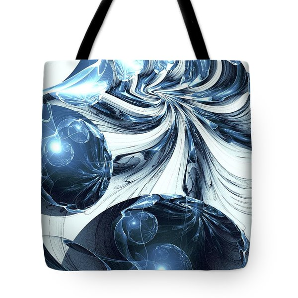 Total Internal Reflection Tote Bag by Anastasiya Malakhova
