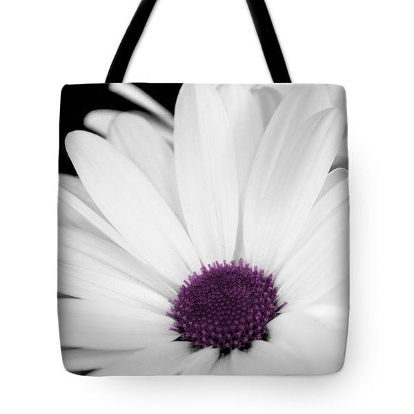 Touch Of Purple Tote Bag by Xenia Headley