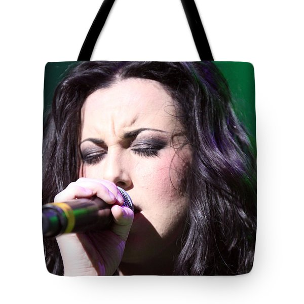 Touching Vocals Tote Bag by Shoal Hollingsworth