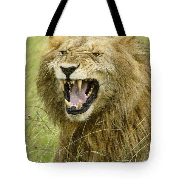 Tough Guy Tote Bag by Michele Burgess