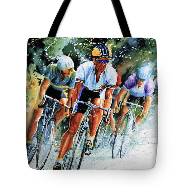 Tour de Force Tote Bag by Hanne Lore Koehler