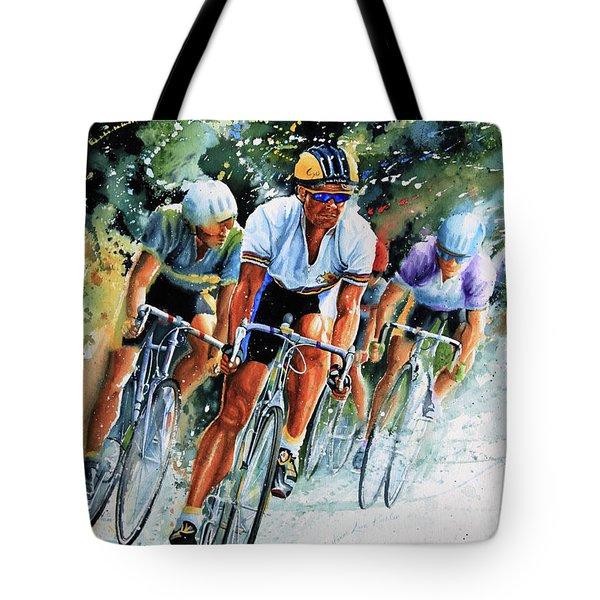Tour de Force Tote Bag by Hanne Lore Koehler