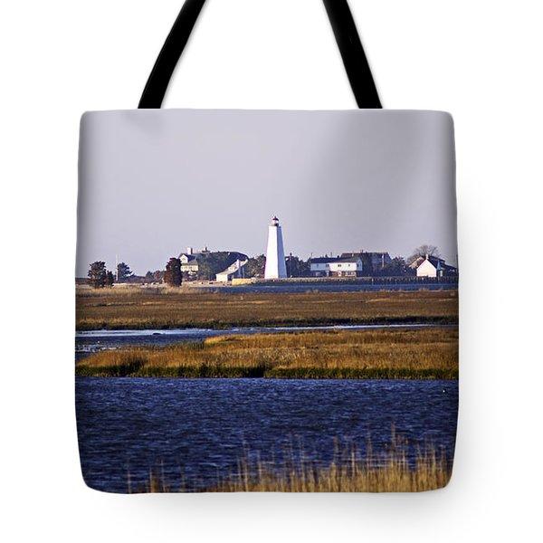 Toward Saybrook Tote Bag by Joe Geraci