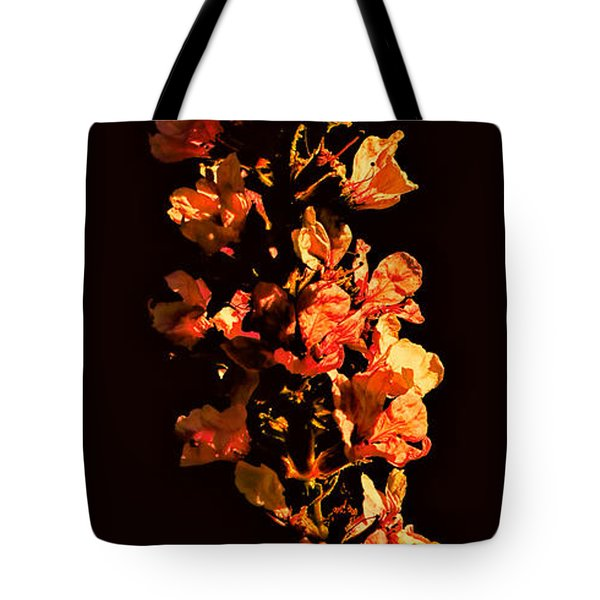 Tower Bloom Tote Bag by Leif Sohlman