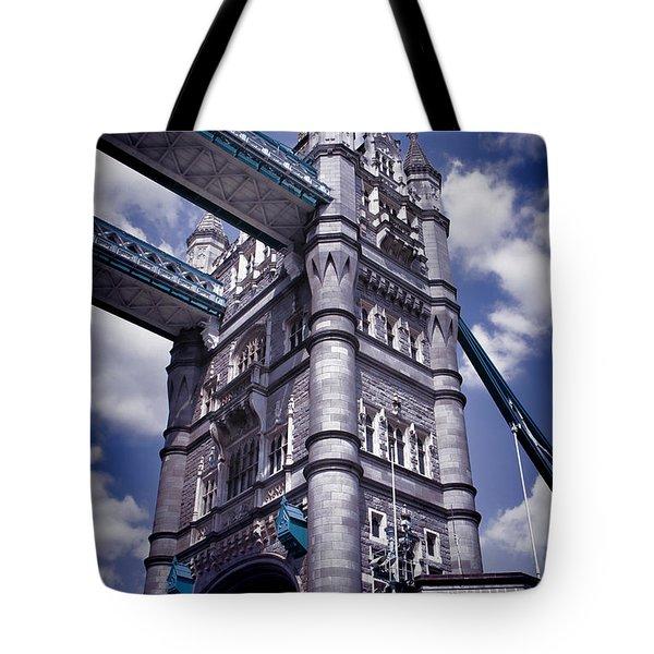 Tower Bridge London Tote Bag by Mariola Bitner